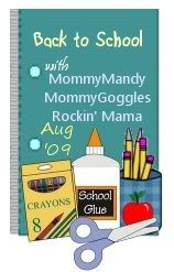 Rockin Mama Back to School Button