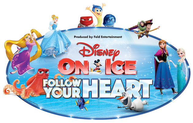 Disney On Ice Follow Your Heart Logo