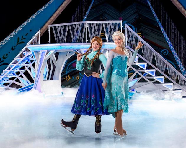 Anna and Elsa Disney On Ice