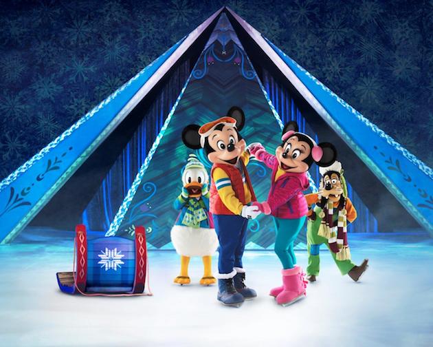 Mickey and Minnie Disney On Ice FROZEN