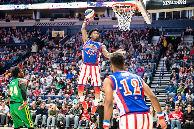 Nice dunk shot