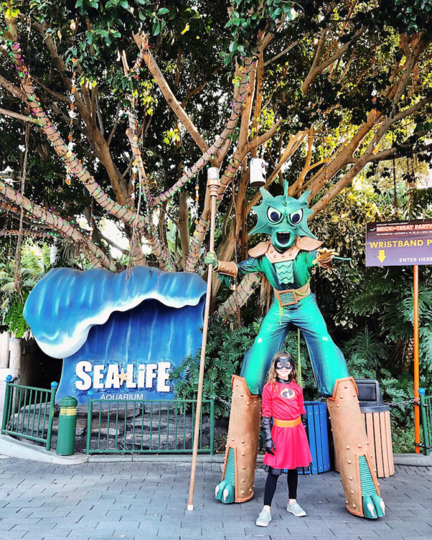 Halloween at Sea Life Aquarium
