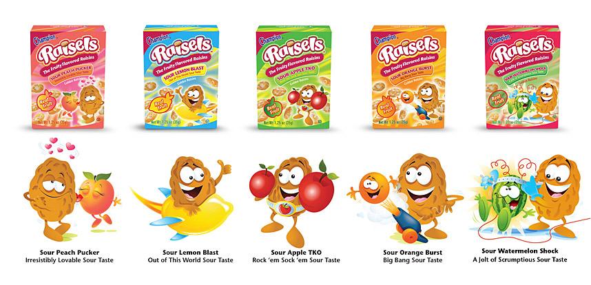 Fruit Flavored Raisins