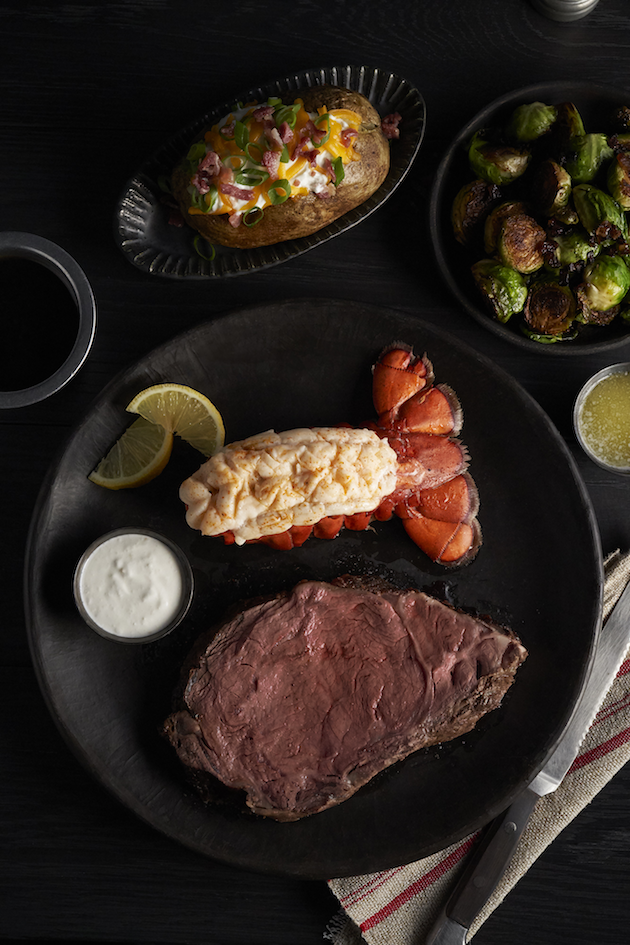 Prime Rib and Lobster Mothers Day Meal