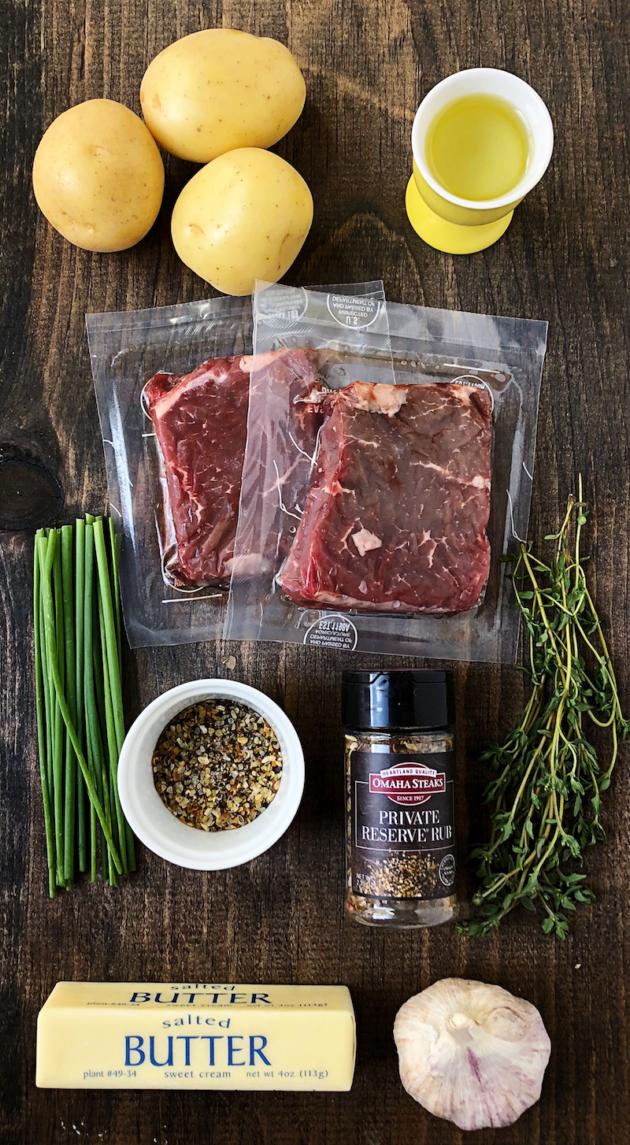 Skillet Steak Ingredients