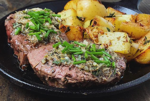 Skillet Steak Recipe