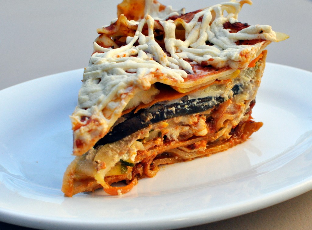 lasagne thousand layer lasagne vegan veggie lasagna for 2 vegan richa ...