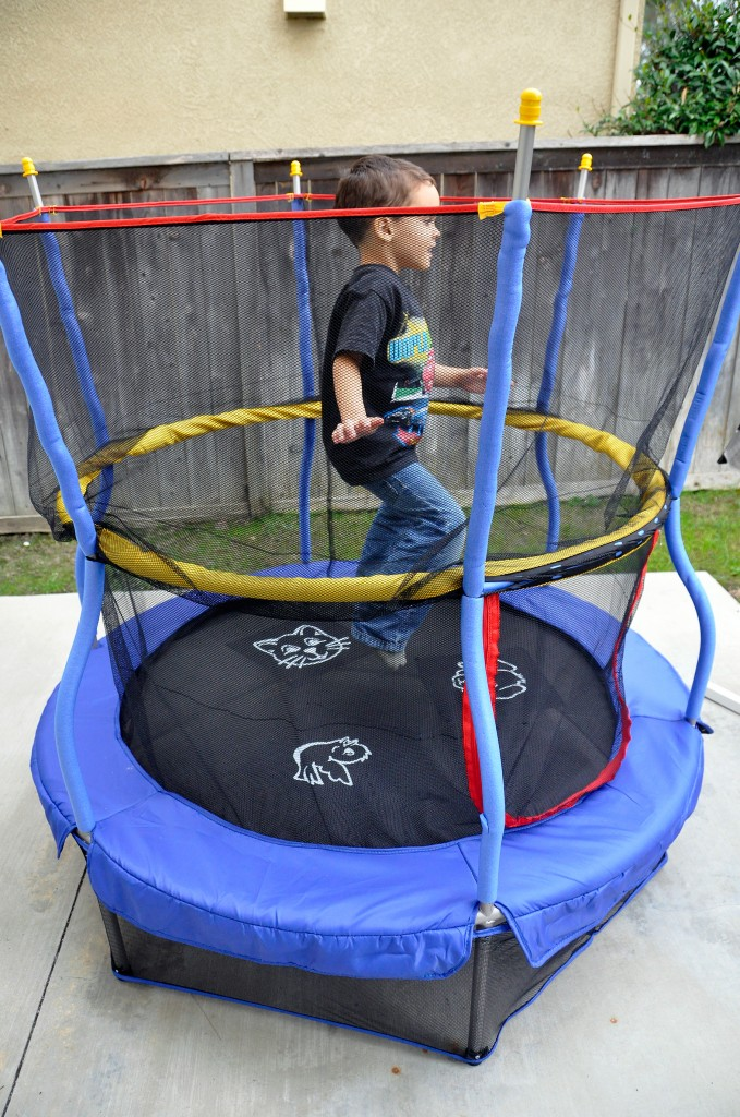earlier this month walmart introduced 4 new trampolines from skywalker trampolines these trampolines are more compact than your traditional