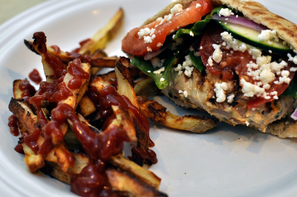 Greek Style Burgers