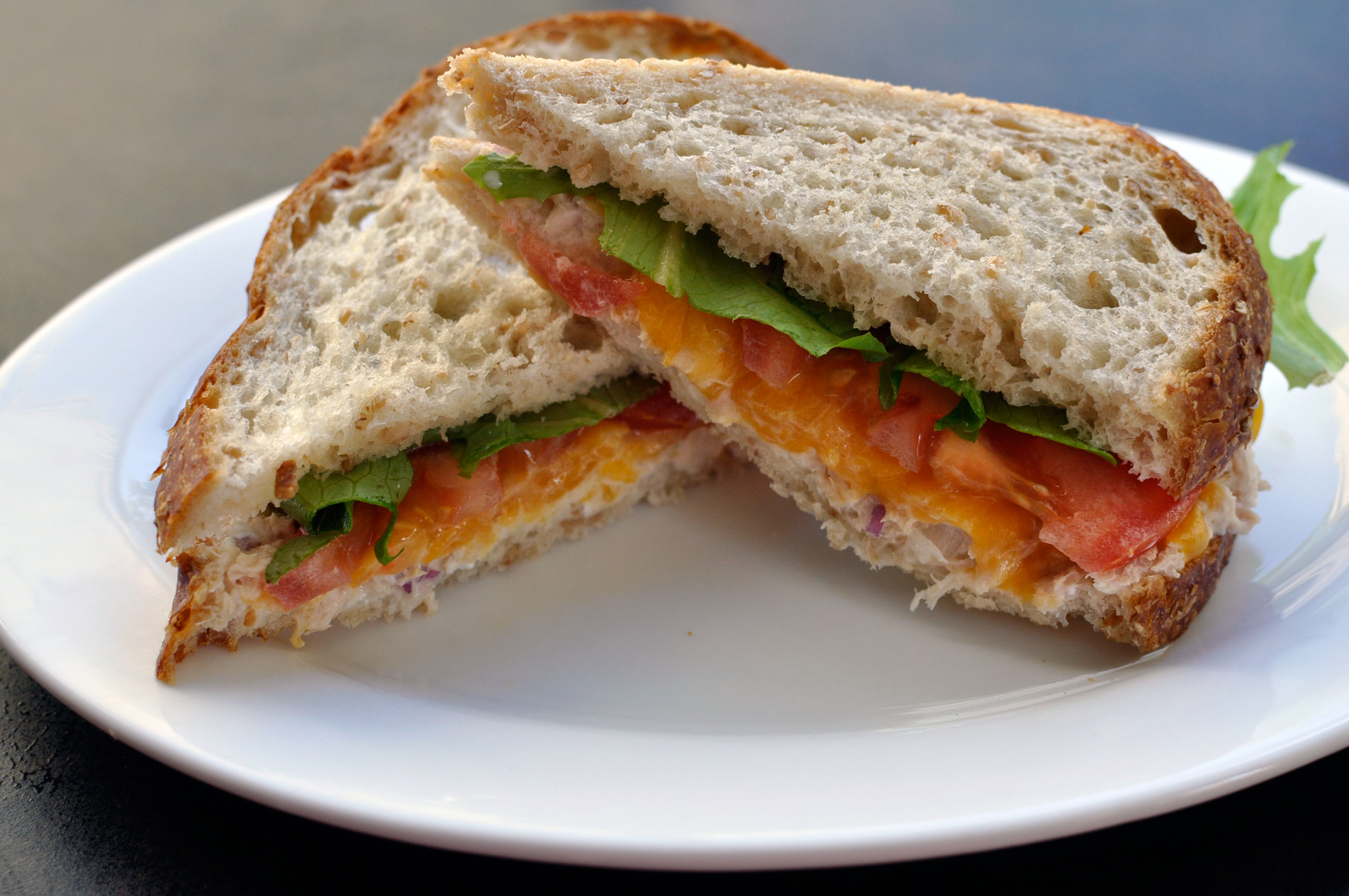 One of my favorite lunchtime meals is the traditional tuna melt. In my ...