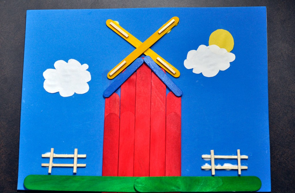 Crafting With Kids Stick Art