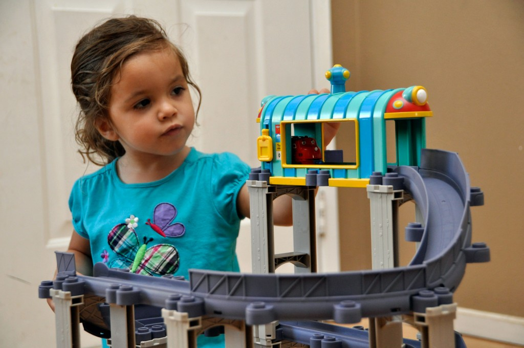 all around chuggington train set instructions