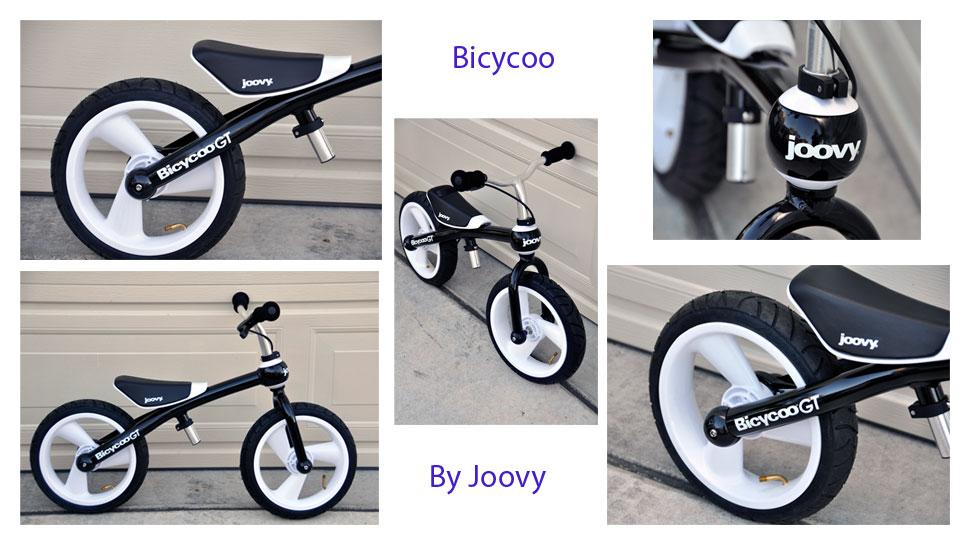 Learn To Ride A Bike With Joovy S Bicycoo Balance Bike Rockin Mama