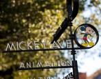 Mickey Avenue Sign at Walt Disney Studios