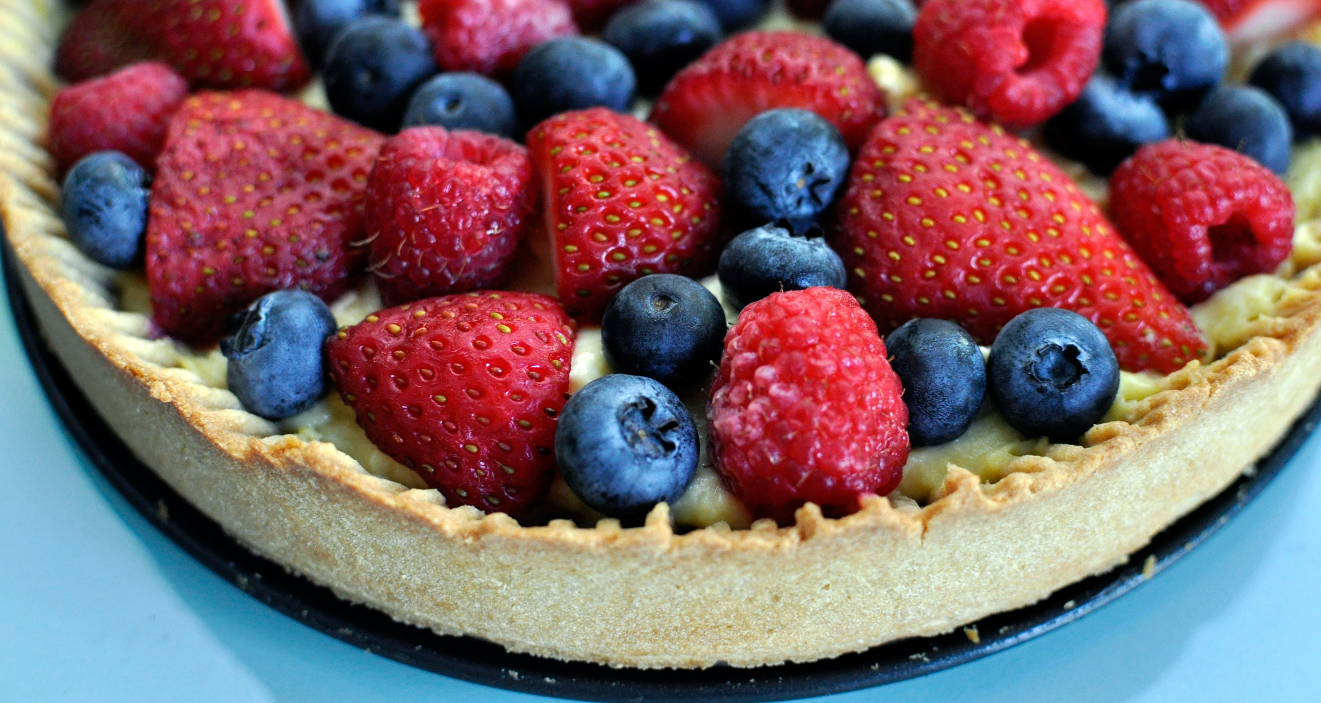 Recipe for a Simple Berry Tart - Rockin Mama™