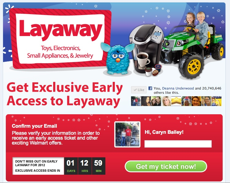 Walmart Layaway Refund Policy