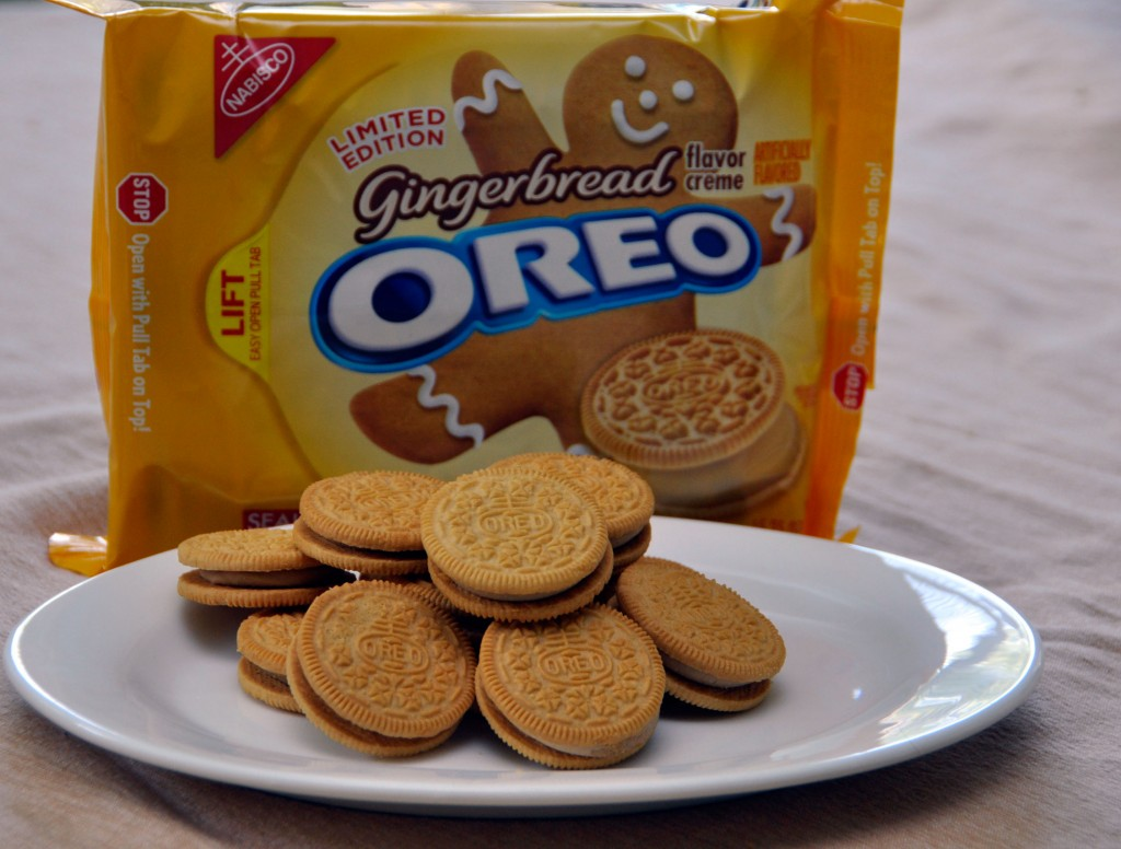 Gingerbread Oreo Cookies