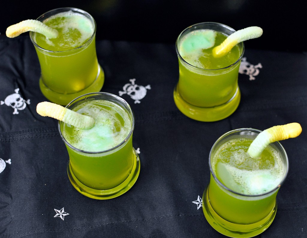 recipe: spooky sparkling punch