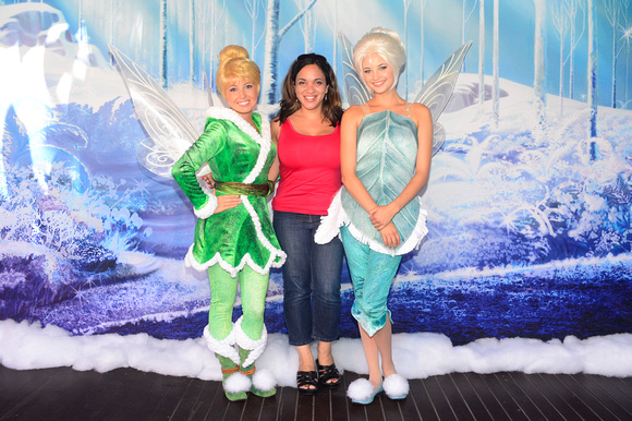 Meet and Greet with Tinker Bell and Periwinkle