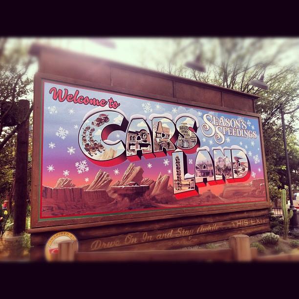 Holidays at Cars Land