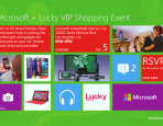 Microsoft & Lucky Magazine VIP Shopping Event