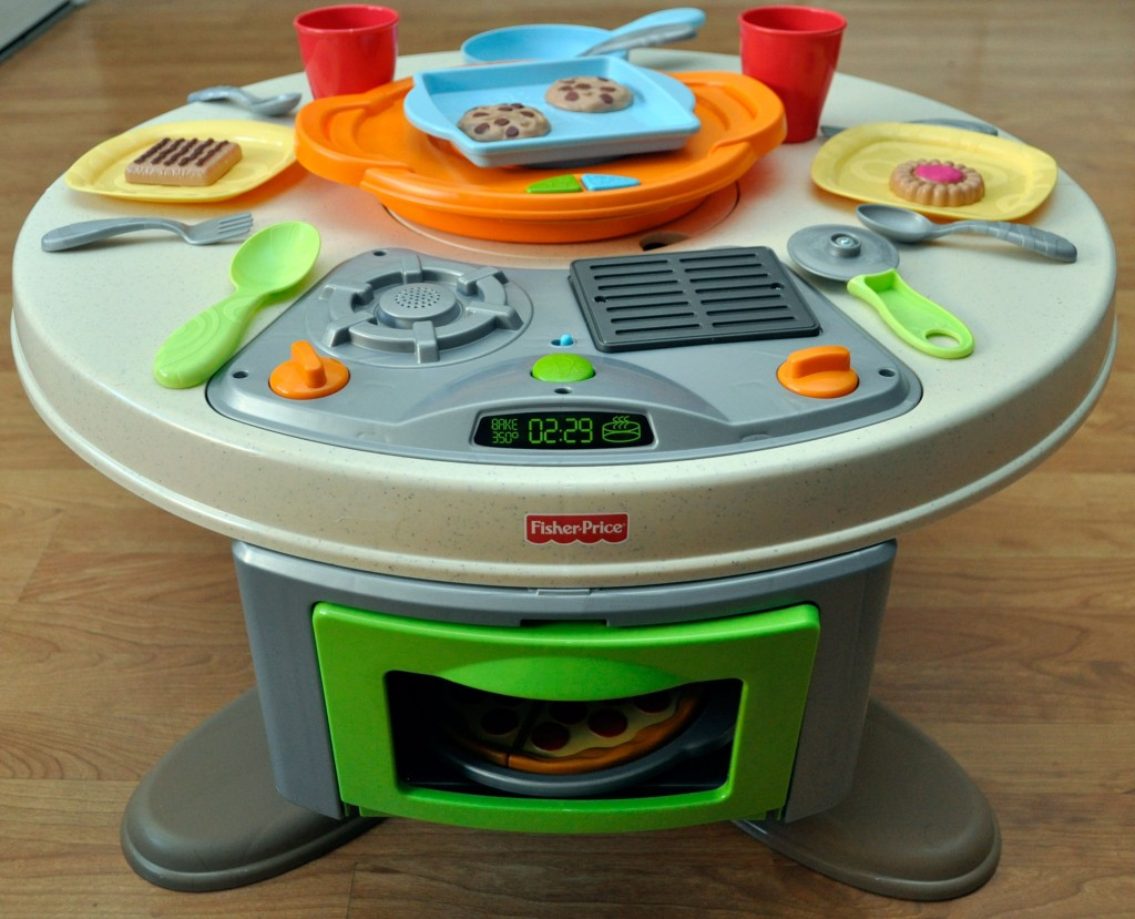 gift guide 2012 fisher price s servin surprises kitchen table