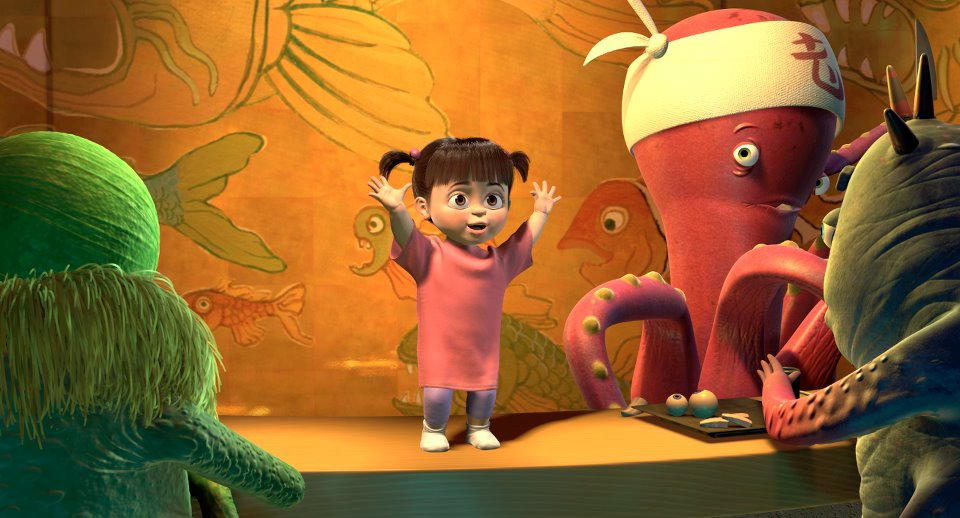 Boo from Monsters, Inc