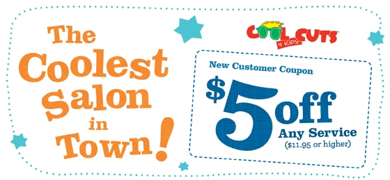 Cool Coupon Designs Cool Cuts 4 Kids Coupon
