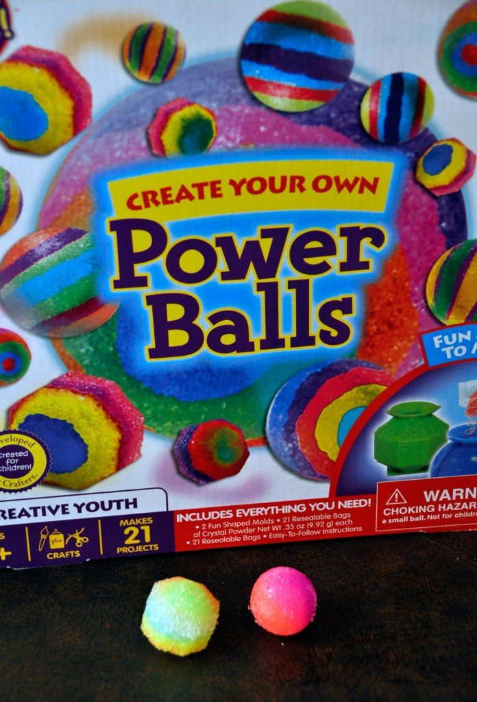 Create Your Own Power Balls