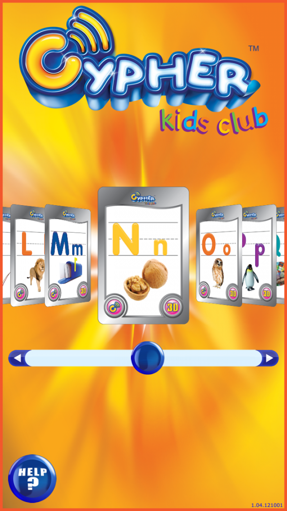 Cypher Kids Club Letters