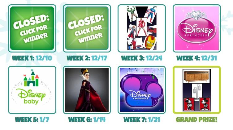 Disney Living Prizes