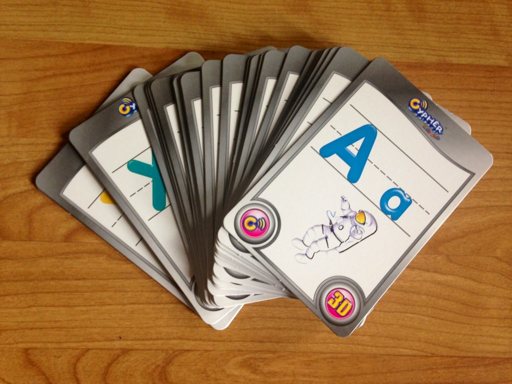 Cypher Kids Club Interactive Cards - Letters