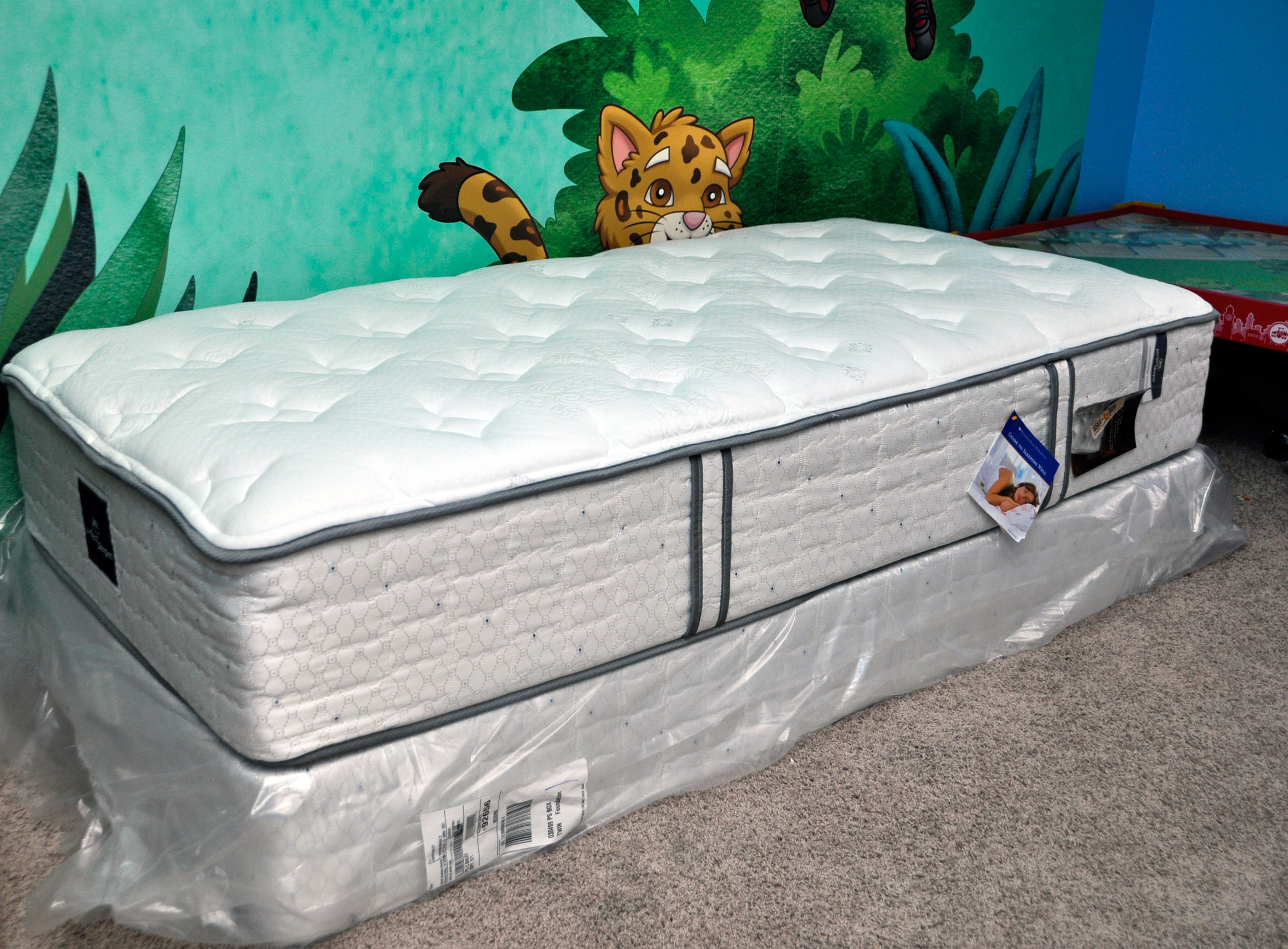 image spring pillowtop with perfect queensize serta mattress iv box sleeper cheshire