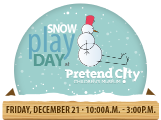 Snow Play Day at Pretend City Children's Museum