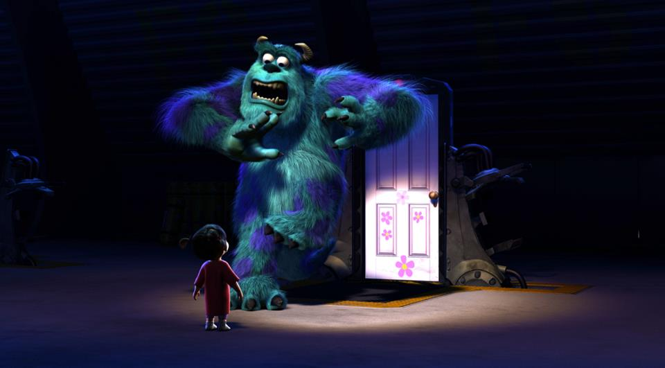 Sulley and Boo from Monsters, Inc