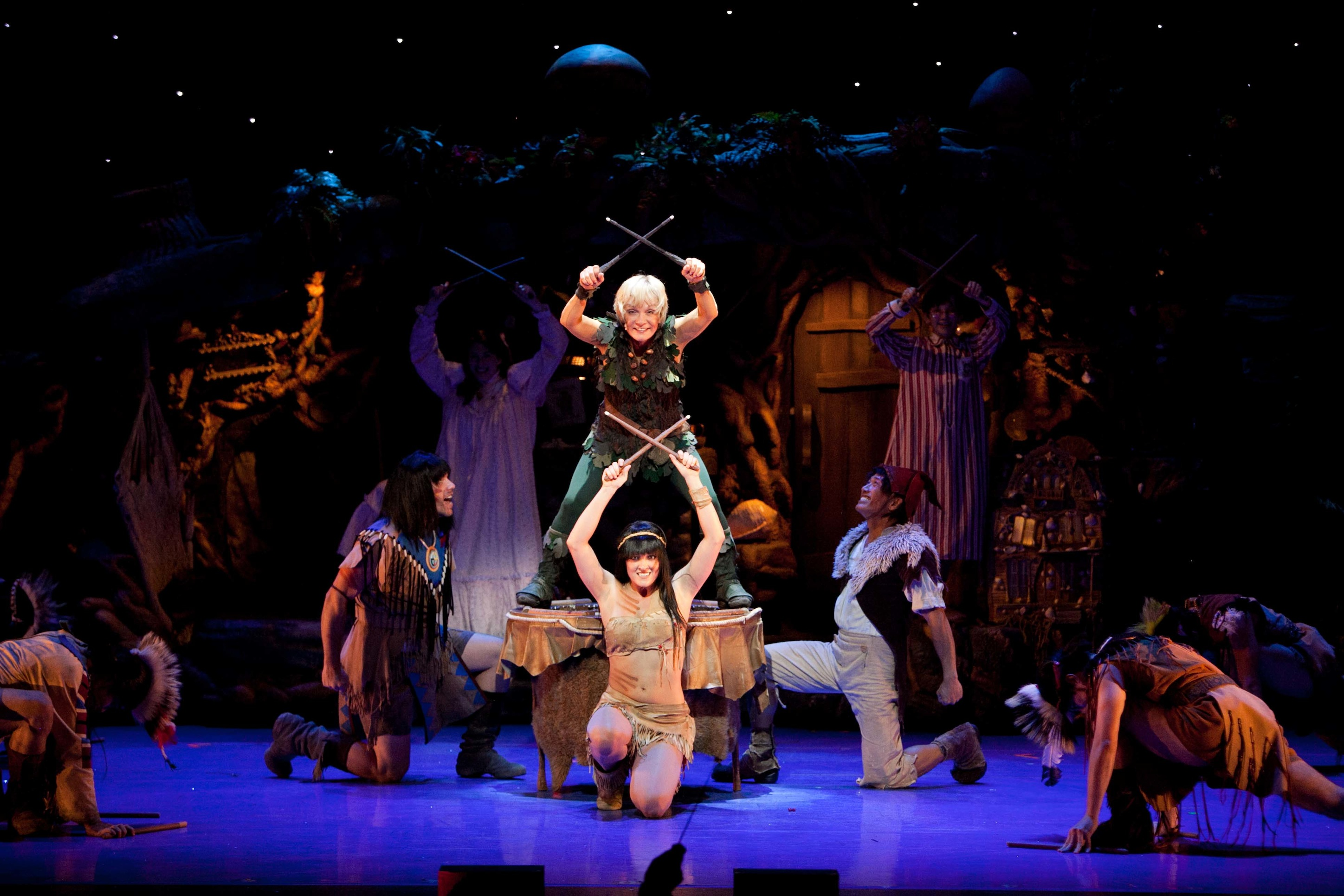 Cathy rigby takes flight as peter pan at the pantages theatre rockin