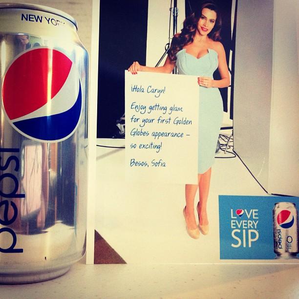 Diet Pepsi Golden Globes