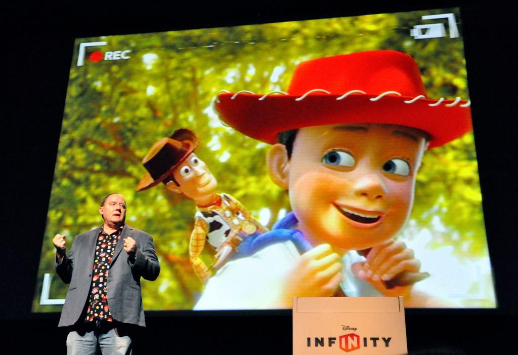 John Lasseter Disney Infinity