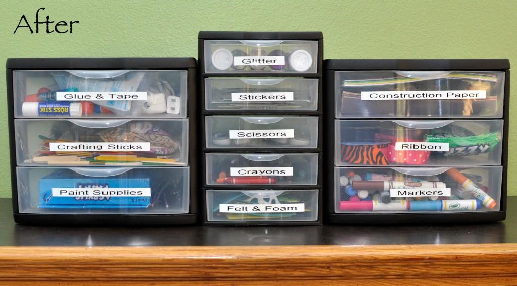 How to organize kids 39 craft supplies rockin mama for How to organize kids crafts