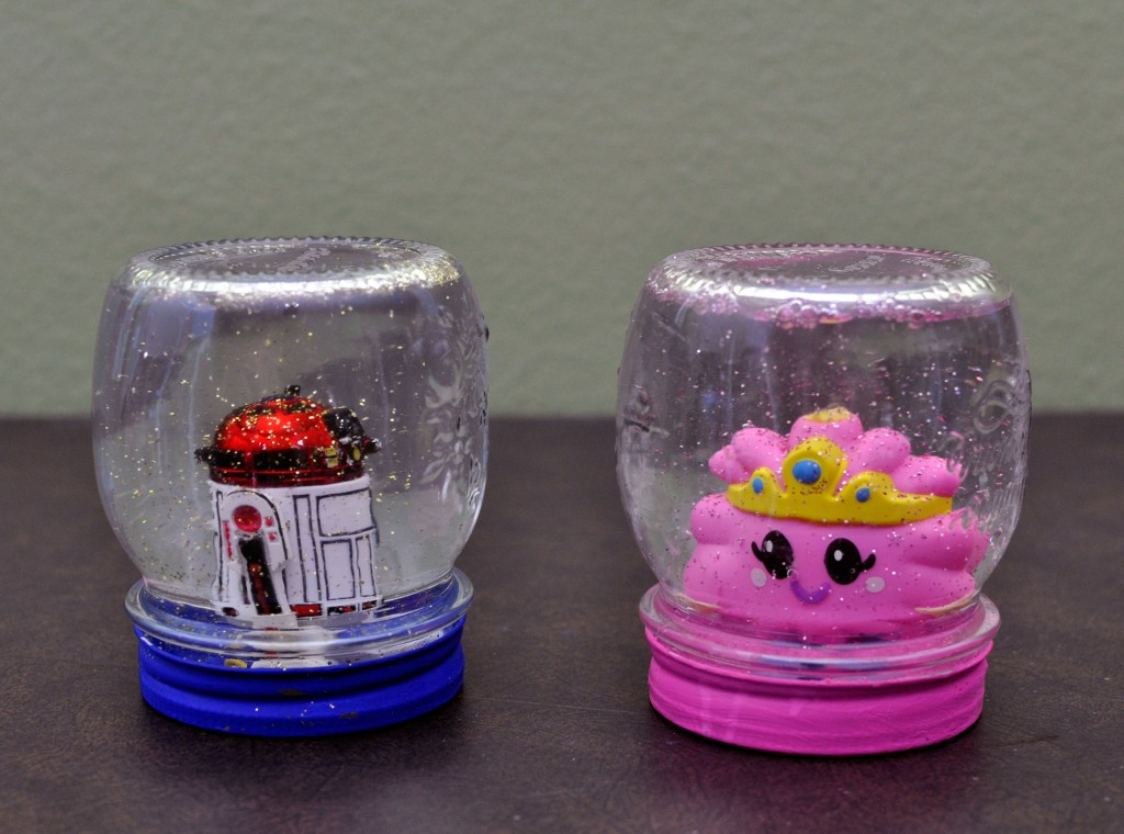 crafting with kids how to make a snow globe