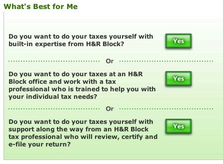 H&R Block Quiz