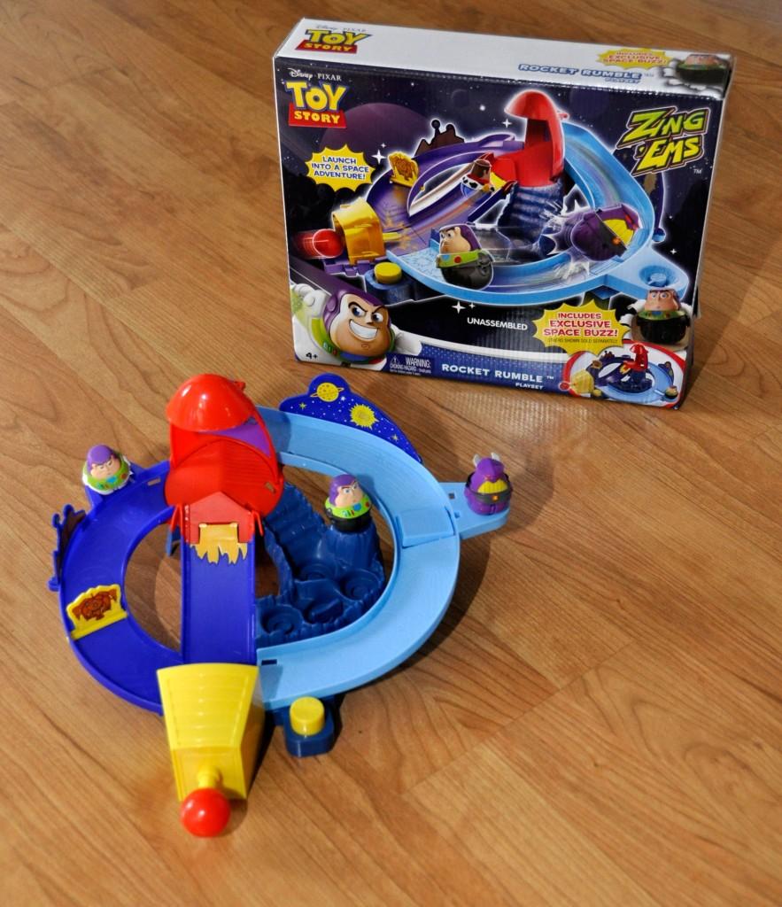 Mattel Rocket Rumble Playset