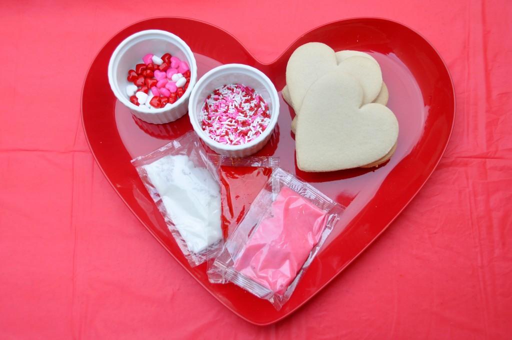 valentines cookie decorating kit