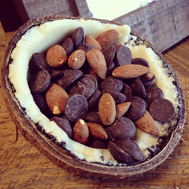 Chocolate & Almonds