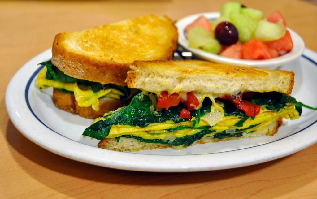 Spinach & Cheese Griddle Melt