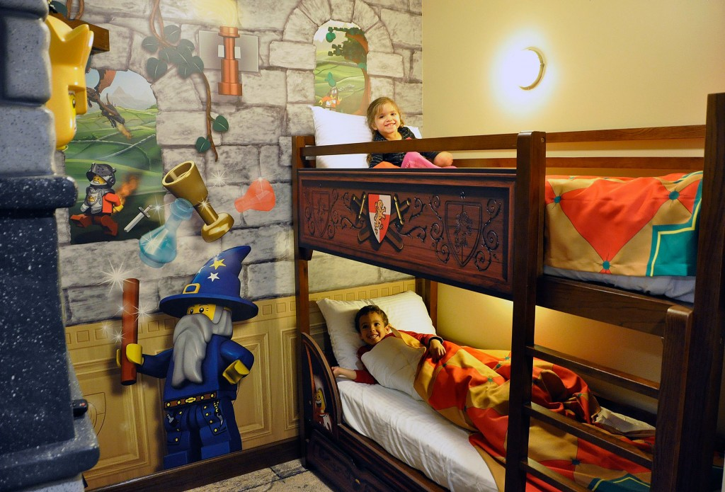 Bunks at LEGOLAND Hotel