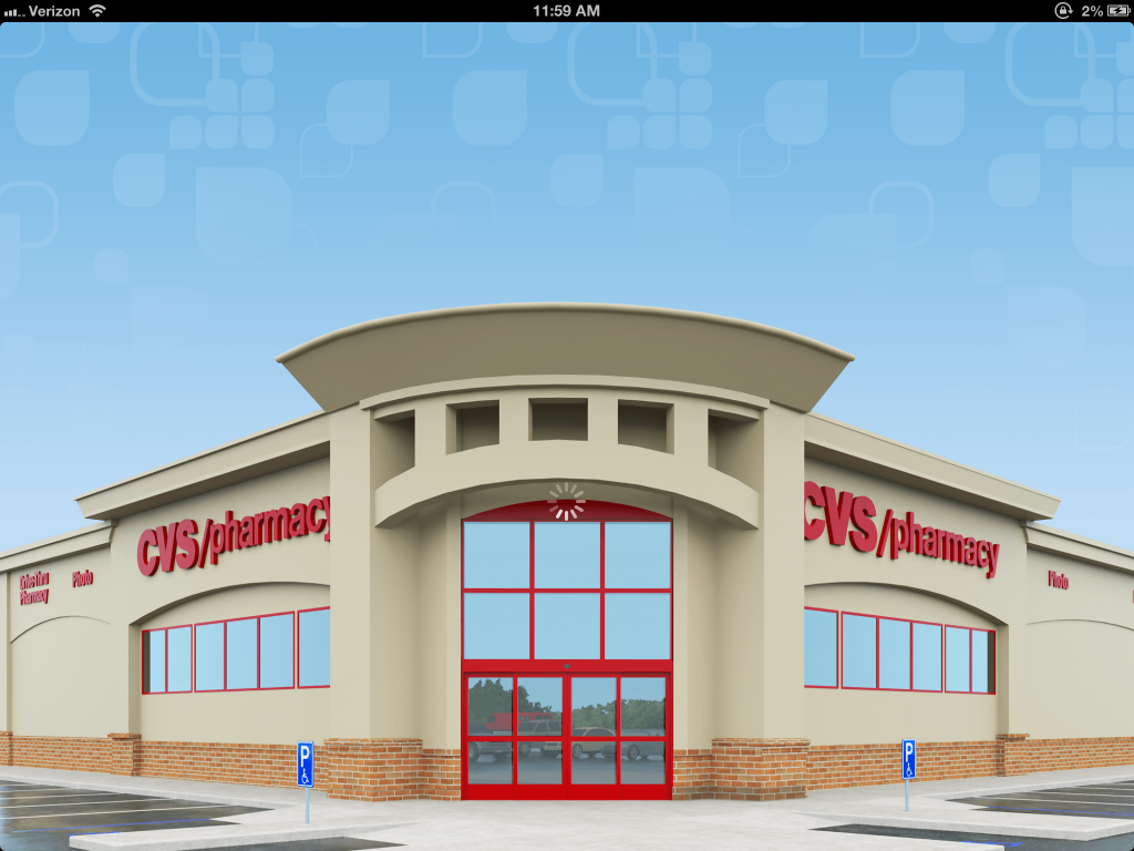 cvs pharmacy launches interactive ipad app with 3d virtual store and