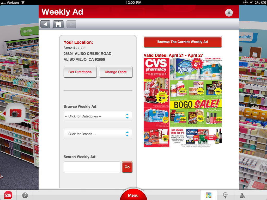 CVS/pharmacy Launches Interactive iPad App With 3D Virtual Store and ...