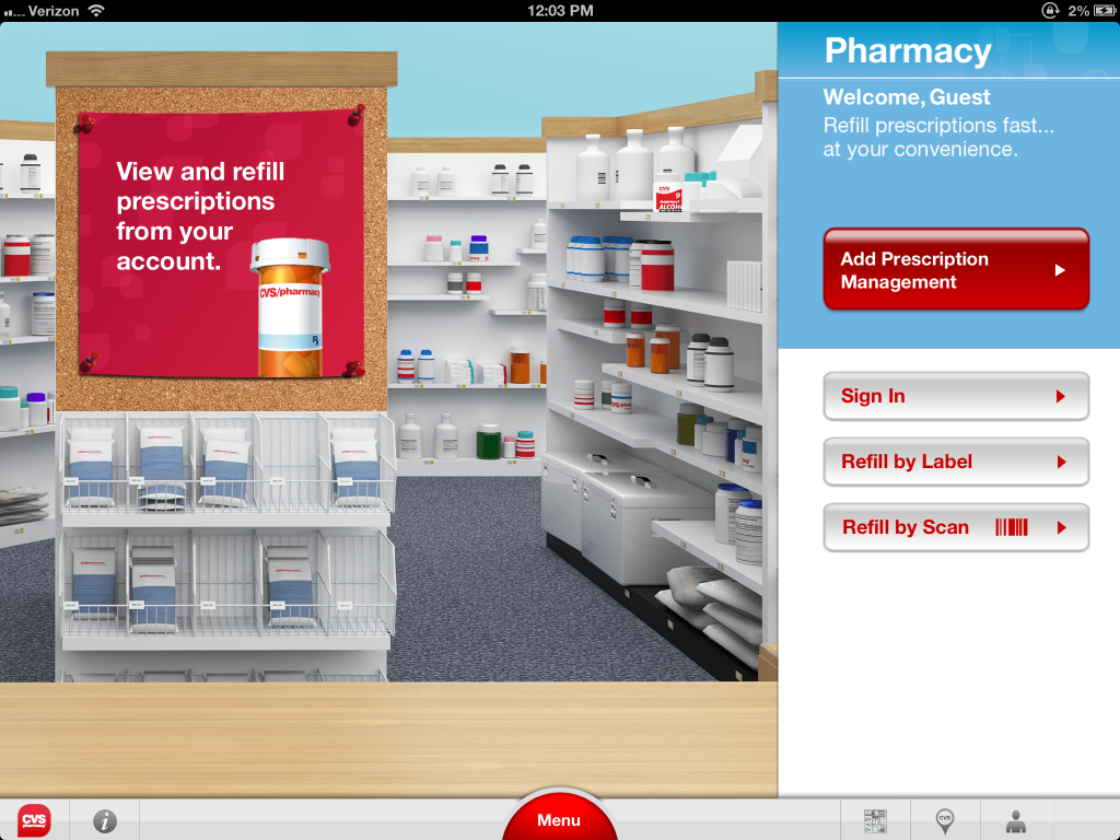cvs  pharmacy launches interactive ipad app with 3d virtual