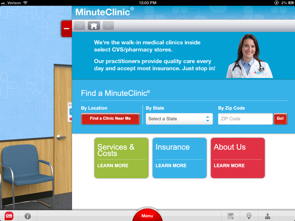 cvs  pharmacy launches interactive ipad app with 3d virtual store and pharmacy